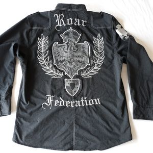 Roar Mens Shirt Size XXL